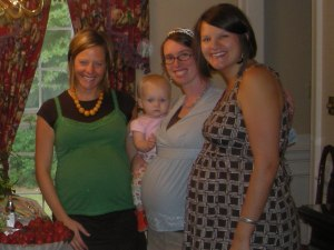 Pregnant neighbors and friends!